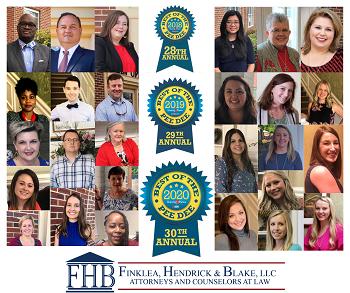 Finklea, Hendrick & Blake, LLC Recognized as Best of Pee Dee