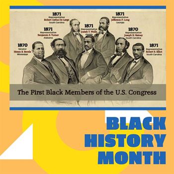 Black History Month: African Americans in the United States House of Representatives