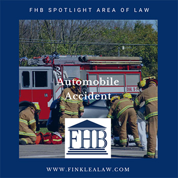 FHB Spotlight Area of Law: Automobile Accidents