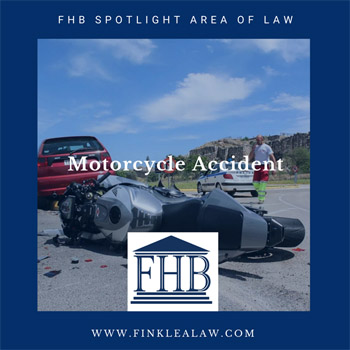 FHB Spotlight Area of Law: Motorcycle Accidents