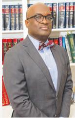 Attorney Charlie J. Blake in January's  Diversity Works Magazine